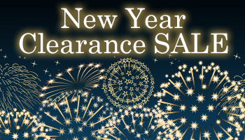 New Year Sale until JAN 3! *The offer is over.
