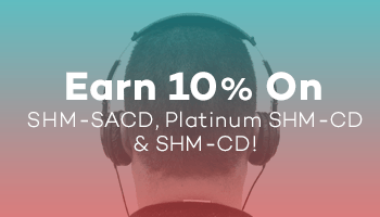 Earn 10% Rewards Points On SHM-SACD, Platinum SHM-CD, & SHM-CD!