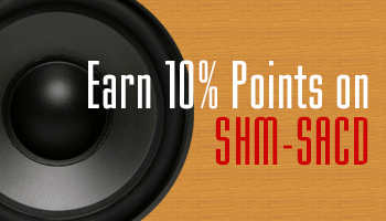 Earn 10% Points on 100 Special Priced SHM-SACD Reissues