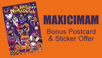 MAXICIMAM Postcard & Sticker Offer *The offer is over.