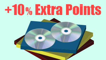 All Released DVD & Blu-ray + 10% Extra Points! *The offer is over.
