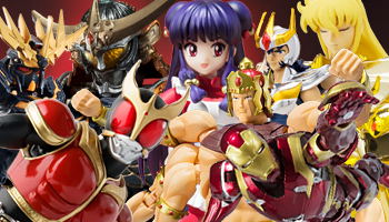 "Bandai new figures such as ""Saint Seiya"" for June 2016!"