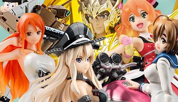 "Bandai new figures of ""Star Wars"" & ""Saint Seiya!"""