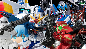 New Bandai Release: Star Wars, Gundam, Toy Story, Kamen Rider and more!