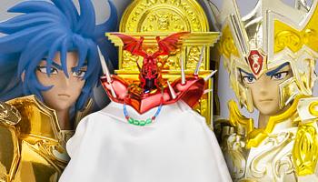 """Saint Seiya"" Myth Cloth Saga figure 3 Editions!"