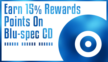 [Offer is Over] Earn 15% Rewards Points On Over 1,000 Blu-spec CD Releases!