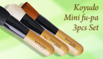 Exclusive to CDJapan! Koyudo Mini fu-pa 3pcs Set