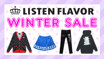 LISTEN FLAVOR Winter SALE!