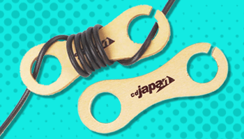 CDJapan : Wooden Cable Winder Giveaway Offer!*The offer is over