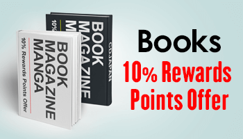 3 Days Only! Book, Magazine, Manga 10% Points Offer *The offer is over.