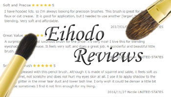 Great Reviews on Eihodo Brushes