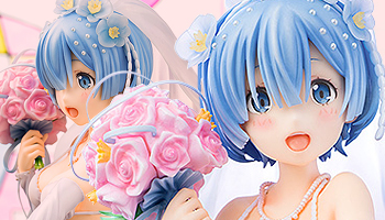 Re:ZERO -Starting Life in Another World- Rem: Wedding Ver. Pre-order!
