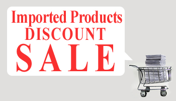 [Offer is Over] Up to 90% Discount On Imported Products *The offer is over.