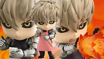 """""""One Punch Man"""" New Nendoroid Genos on preorder!"""