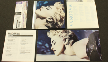 "Madonna: 6 Mini LP Reissues & ""Rebel Heart"" Japan Edition"