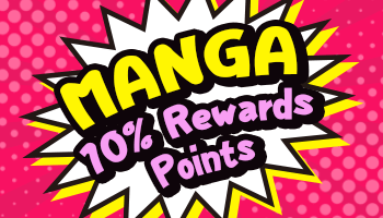 Manga/Comic Released Items 10% Points Offer *The offer is over.