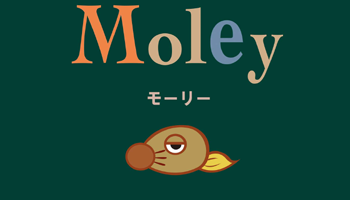 """Moley"" is silent picture book without words."