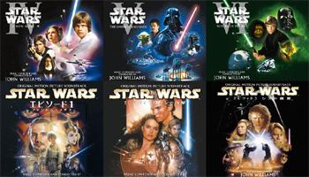 """""""Star Wars I-VI"""" Blu-spec CD2 OST out OCT 28th!"""
