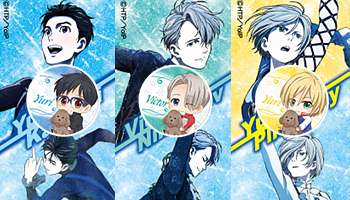 """Yuri!!On Ice"" merchandising!"