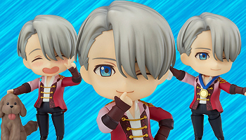 "Extra points: Nendoroid ""Yuri on Ice"" Victor Nikiforov pre-order listed!"