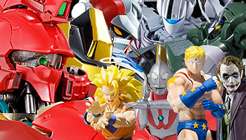 "Bandai New Releases: ""Dragon Ball Z"", ""Batman"" and more!"