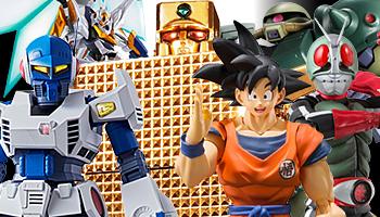 "Bandai release preorders: ""Metal Robot Spirit"", ""Kamen Rider"", ""Dragon Ball"", ""Gudetama"" & more!"