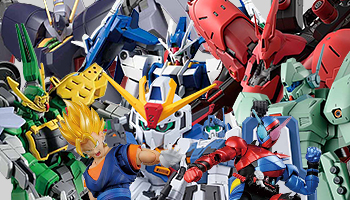 "Bandai new plastic kit feat. ""Gundam Build Divers"""