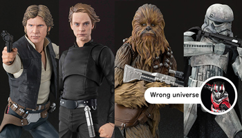 "S.H.figuarts ""Star Wars"" new & re releases pre-order start!"