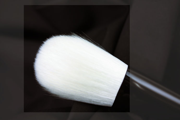 Powder Brush (black) Closeup (Hair)