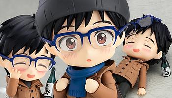 """New Nendoroid of """"Yuri!!! On Ice"""" feat. Katsuki Yuri!!"""
