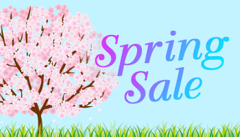 Spring Sale *The offer is over.