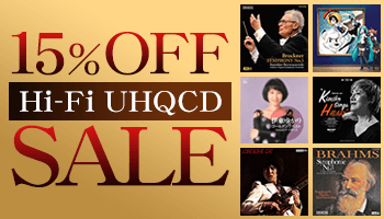 [This Offer is Over] 15% OFF SALE on UHQCD: Jazz, Classical Music, & J-Pop