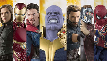 "S.H.Figuarts ""Avengers Infinity War"" figures on pre-order!"