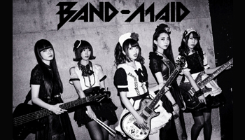 """[Poster Image Came In!] BAND-MAID 3rd Single """"start over"""" Out on JUL 25th"""