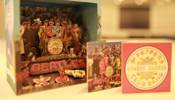 [Diorama Details Added!] Sgt. Pepper' Japan Exclusive SHM Box Set