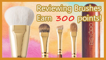 *This Offer is Over Earn 300 Points by Reviewing UYEDA BISYODO Brushes!