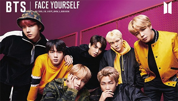 "BTS: 3rd Album ""FACE YOURSELF"" out APR 4th"