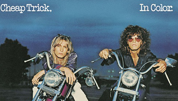 Cheap Trick Limited Time Offer: Get A Logo Can Badge with A Purchase of A Mini LP x Blu-spec CD2 Reissue