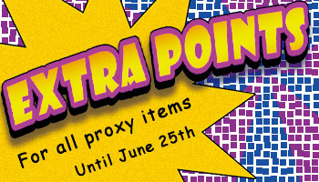 [CDJ 20th Proj.] Proxy Draw After Party: Extra Points For All Proxy Items! *The offer is over.