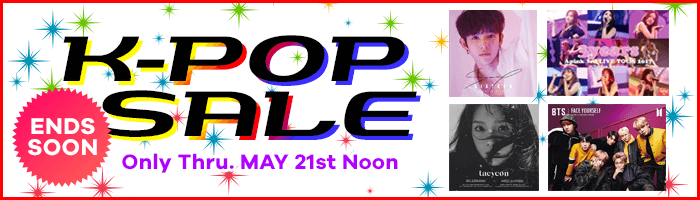 Only for 10 Days! K-POP SALE
