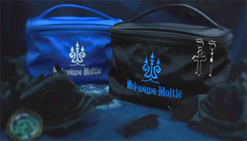 Moi-meme-Moitie new arrivals (folding fan / pouch)