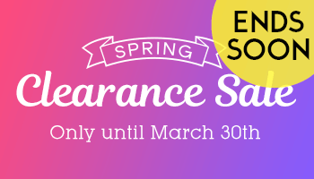 Up to 80% OFF! Spring Clearance Sale
