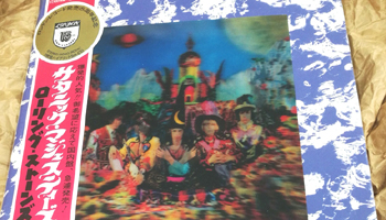 "Details Added! Stones Japan Original Set of ""Their Satanic Majesties . . "" 50th Anniversary Edition"
