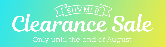 MAX 95% OFF! Summer Clearance Sale
