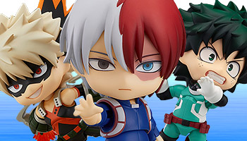 Nendoroid My Hero Academia Shoto Todoroki: Hero's Edition pre-order!