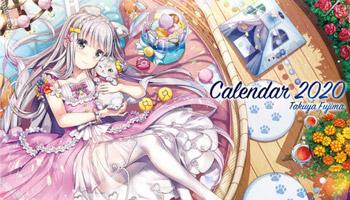 "Popular Illustrators' 2020 ""MOE"" calendars!"