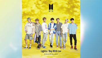 BTS Lights/Boy With Luv Japan Exclusive  UNIVERSAL MUSIC STORE Set [Proxy Pickup]