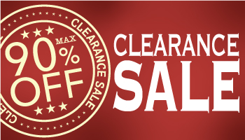 MAX 90% OFF! Clearance Sale *Expired