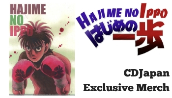 "[New Arrivals] ""Hajime no Ippo"" CDJapan Exclusive Items"