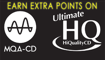 Earn 10% Rewards Points on Hi-Res CD (MQA x UHQCD)